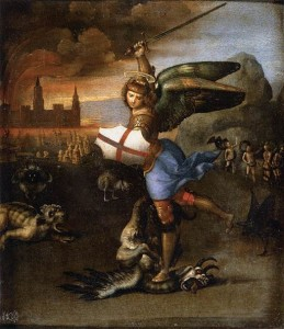 Raffaello_Sanzio_-_St_Michael_and_the_Dragon_-_WGA18633