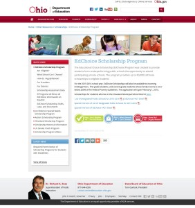 EdChoice Scholarship Program   Ohio Department of Education